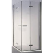 SANSWISS SWING LINE F SLF2D sprchové dvere 800x1950mm pravé, dvojdielne skladacie, aluchrom/číre sklo