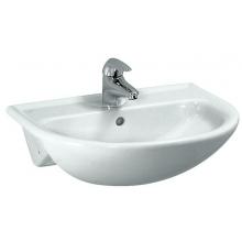 LAUFEN PRO B polozápustné umývadlo 560x440mm s otvorom, biela