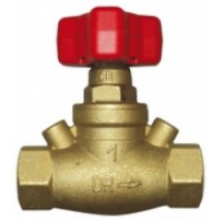 HERZ STRÖMAX-GR regulačný ventil DN25 priamy, vyvažovací, bez meracích ventilčekov
