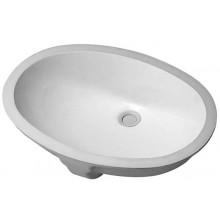 DURAVIT SANTOS umývadlo 510x375mm vstavané s prepadom, guľaté, biela 0466510000