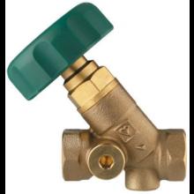 HERZ STRÖMAX-AWD uzatvárací ventil DN25 šikmý, s vnútorným závitom, nestúpavé vreteno