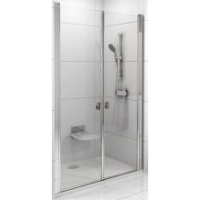 RAVAK CHROME CSDL2 110 sprchové dvere 1075-1105x1950mm dvojdielne bright alu/transparent