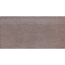 RAKO UNISTONE schodovka 30x60cm, šedohnedá