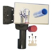HL zápachová uzávera DN40/50 podomietková vodná, pre práčky, umývačky, nerez oceľ/polyetylén
