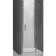 ROLTECHNIK TOWER LINE TDN1/1000 sprchové dvere 1000x2000mm jednokrídlové na inštaláciu do niky, bezrámové, striebro/transparent