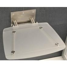 RAVAK OVO B sedátko 360x360x130mm do sprchovacieho kúta, sklopné, clear B8F0000015