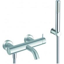 CRISTINA TRICOLORE VERDE vaňová batéria nástenná páková vrátane sprchového setu chróm