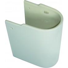 CONCEPT CUBE polostĺp pre umývadlo biela alpin E783901