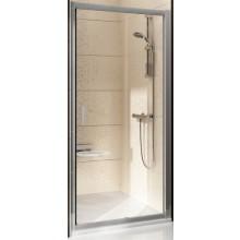 RAVAK BLIX BLDP2 110 sprchové dvere 1070x1110x1900mm dvojdielne, posuvné bright alu / grape 0PVD0C00ZG