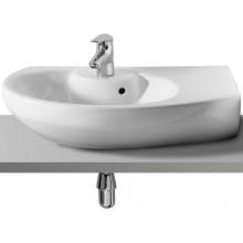 ROCA SENSO SQUARE umývadlo 650x475mm s otvorom, s inštalačnou súpravou, biela