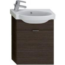 JIKA TIGO skrinka s umývatkom 415x165x535mm s výklopnými dvierkami, mokka 4.5510.6.021.429.1