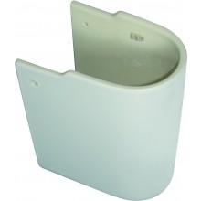 CONCEPT CUBE polostĺp pre umývatko 400mm biela alpin E784001
