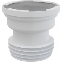 CONCEPT dopojenie k WC priame, biela