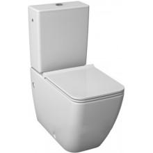 JIKA PURE WC kombinačná misa 355x670x430mm, kapotovaná k stene, biela